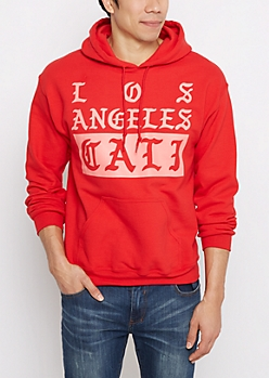 Los Angeles Gothic Fleece Hoodie