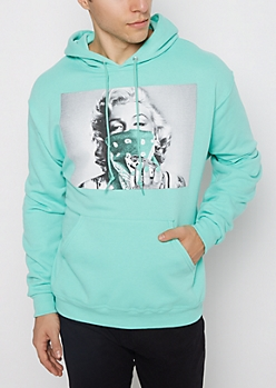 Mint Marilyn Thief Fleece Hoodie