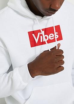 White Vibes Hoodie