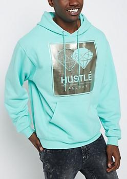 Holographic Hustle Fleece Hoodie