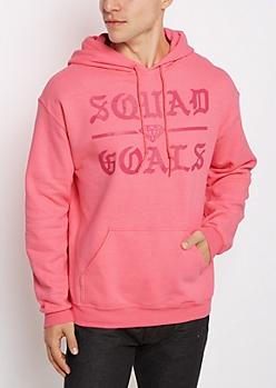 Squad Goals Gothic Fleece Hoodie