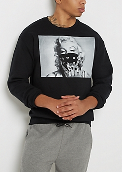 Marilyn Gem Heist Fleece Sweatshirt