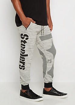 Pittsburgh Steelers Space Dye Jogger
