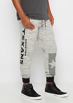 Houston Texans Space Dye Jogger