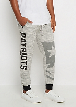 New England Patriots Space Dye Jogger