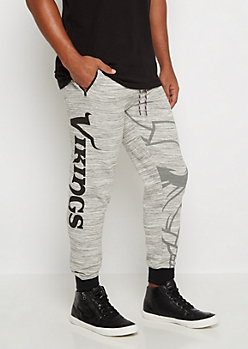 Minnesota Vikings Space Dye Jogger