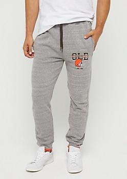 Cleveland Browns Logo Fleece Jogger