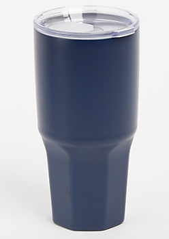 Navy Insulated Metal Tumbler