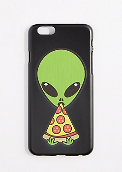 Pizza Eating Alien Case For iPhone 6S/6