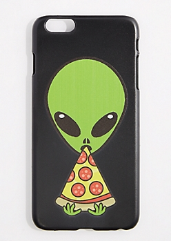 Pizza Eating Alien Case For iPhone 6S+/6+