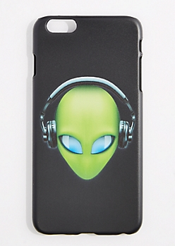 Headphone Alien Case For iPhone 6S+/6+