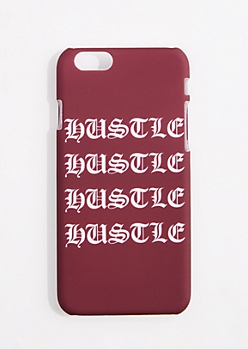 Burgundy Hustle Case For iPhone 6S/6