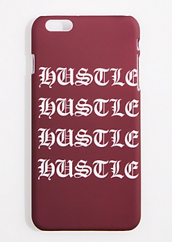Burgundy Hustle Case For iPhone 6S+/6+