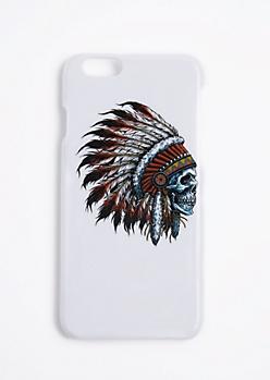 Headdress Skull Case For iPhone 6S/6