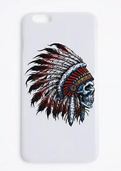 Headdress Skull Case For iPhone 6S+/6+