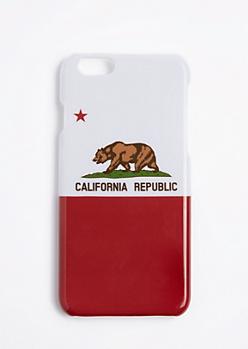 California Republic Flag Case For iPhone 6S/6