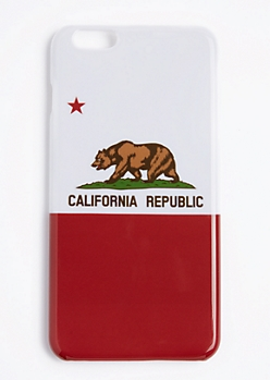 California Republic Flag Case For iPhone 6S+/6+