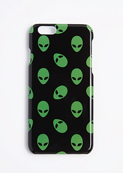 Green Alien Case For iPhone 6S/6