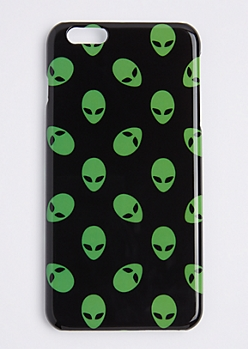 Green Alien Case For iPhone 6S+/6+
