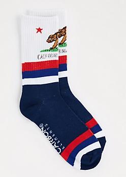 California Republic Crew Socks