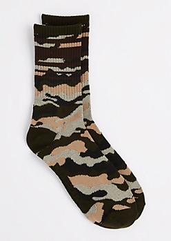 Camo Crew Socks