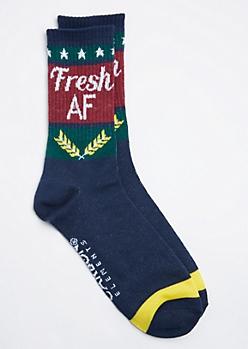 Fresh AF Crew Sock