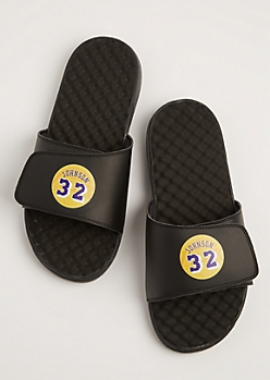 Magic Johnson Textured Sandal By iSlide