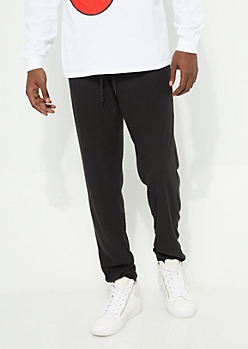 Black Super Soft Jammie Jogger