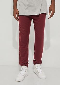 Burgundy Super Soft Jammie Jogger