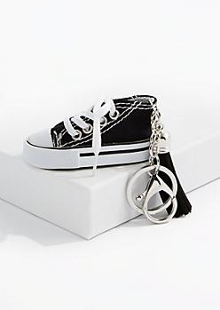 Black High Top Handbag Charm