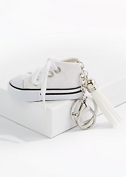 White High Top Handbag Charm