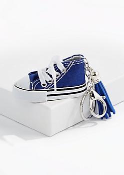 Blue High Top Handbag Charm