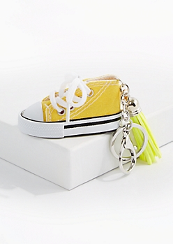 Yellow High Top Handbag Charm
