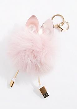 Pink MFi Pom Handbag Charm