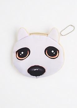 Puppy Eyes Change Purse