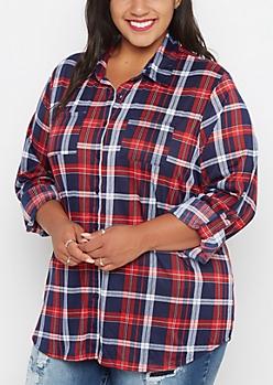 Plus Americana Paid Double Pocket Shirt
