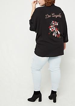 Plus Cardigans & Kimonos