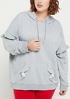 Plus Sweatshirts & Hoodies