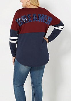 Plus Dreamcatcher Raglan Sweater