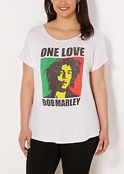 Plus One Love Marley Tee