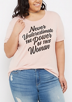 Plus Power of This Woman Graphic Tee