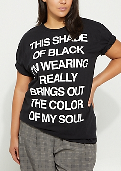 Plus Color Of My Soul Tee