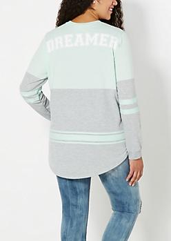 Plus Dreamer 2-Tone Sweatshirt
