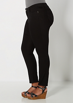 Plus Better Booty Black Twill Pant