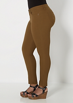 Plus Better Booty Camel Hyper Twill Pant
