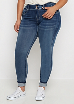 skinny jeans for plus size juniors - Jean Yu Beauty
