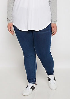 Plus Flex Vintage Jegging in Short