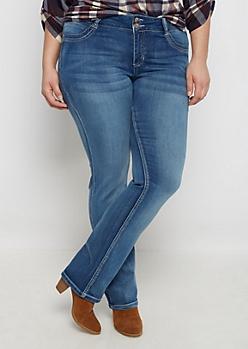 Plus Flex Vintage Blue Bootcut Jean