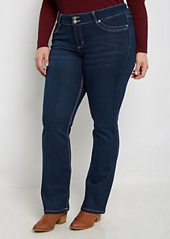 Plus Flex Dark Blue Bootcut Jean