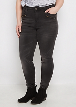 Plus Flex Better Butt High Waist Black Jegging